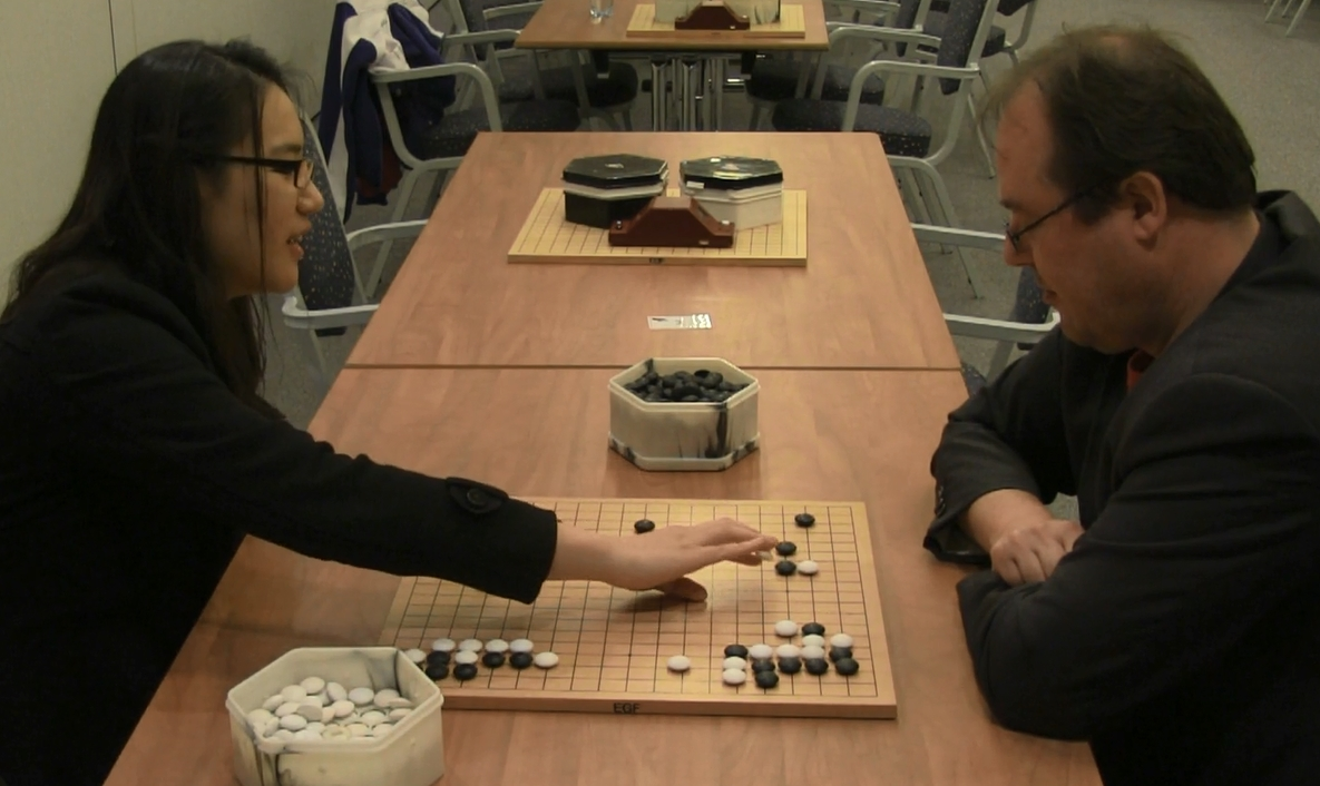 Interview with Hajin Lee 3p at the EYGC2015